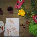 Mit Blumen arbeiten - Foto von Susanne Haun