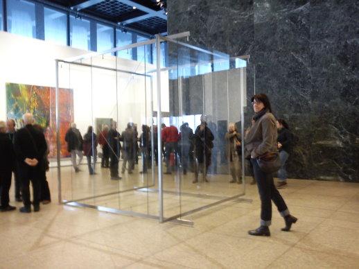 Neue Nationalgalerie Ausstellung Gerhard Richter (c) Foto von Susanne Haun