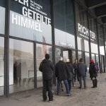 Neue Nationalgalerie Eingang Richter Ausstellung (c) Foto von Susanne Haun