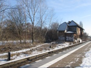 S-Bahnhof Tegel (c) Foto von Susanne Haun