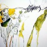 Ausschnitt Bergkuppe Eldorado (c) Zeichnung von Susanne Haun