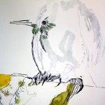 Entstehung Kolobri Eldorado (c) Zeichnung von Susanne Haun