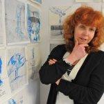 Susanne Haun und ihre Arbeit (c) Foto von Sergej Glanze
