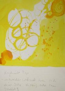 Diziplinierte Tage - Zitat Márai (c) Zeichnung von Susanne Haun