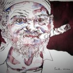 Die Havanna - Zeichnung von Susanne Haun