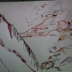 Anschluss Stelle Raguel zum Meer und Fische (c) Zeichnung von Susanne Haun