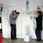 Susanne Haun und der Fotograf der MoPo bei der Arbeit (c) Foto von Christiane Weidner