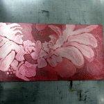 Die fertige mit rot eingewischte Platte (c) Susanne Haun