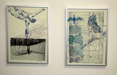Probe Hängung im Atelier (c) Susanne Haun (2)
