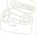 Mein Beautycase (c) Skizze von Susanne Haun