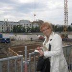 Susanne Haun beim Skizzieren (c) Foto von Tanja Maciejewski
