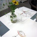 Arbeiten zu Umschlungen (c) Foto und Zeichnung von Susanne Haun