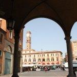 Piazza Saffi in Forlì (c) Foto von Susanne Haun