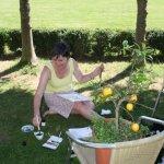 Karin und die Zitronen (c) Foto von Susanne Haun