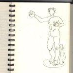 Engel in Florenz (c) Zeichnung von Susanne Haun (3)