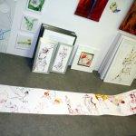 Die ersten Meter von der 10 Meter langen Rolle (c) Zeichnung von Susanne Haun