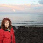 Die Küste von Flaster ist leer und sehr eindrucksvoll