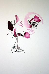 Zuerst habe ich überlegt, ob ich hier aufhöre (c) Zeichnung von Susanne Haun