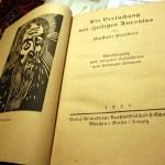 Der Heilige Antonius von Lismann übesetzt und illustriert (c) Foto von Susanne Haun