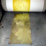 Näher an die Radierung Gerbera in gelb (c) Foto von Susanne Haun