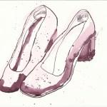 Schuhe Version 1 (c) Zeichnung von Susanne Haun