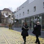 Buchstaben der Berlinischen Galerie (c) Foto von Susanne Haun