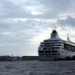 Auch in Kopenhagen liegen die riesigen Kreuzfahrtschiffe (c) Foto von Susanne Haun