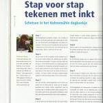 Mein Artikel im holländischen Magazin inspriation art