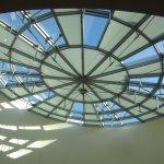 Kreisrunder Einschnitt in der Decke (c) Foto von Susanne Haun