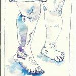 Blatt 10 Die Ringe um ihre Knöchel (c) Zeichnung von Susanne Haun