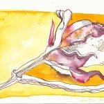 Laub Version 2 (c) Zeichnung von Susanne Haun