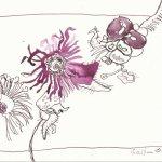 Laub Version 3 (c) Zeichnung von Susanne Haun
