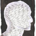Hat meine Gedanken gelöscht (c) Zeichnung von Susanne Haun