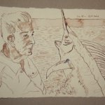 20 Du tötest mich Fisch (c) Zeichnung von Susanne Haun