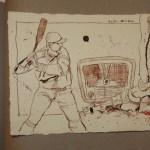 23 Der große DiMaggio (c) Zeichnung von Susanne Haun