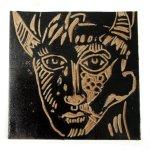 Ich mag die schwarz eingefärbten Linolplatten (c) Foto von Susanne Haun