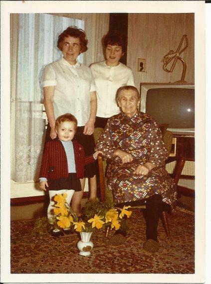 Vier Generation - Aus dem Fotoalbum von Susanne Haun