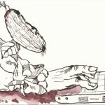 Blatt 2 Gewächshaus-Generation (c) Zeichnung von Susanne Haun