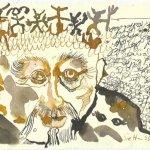 Blatt 73 - die sieben Todsünden trägt (c) Zeichnung von Susanne