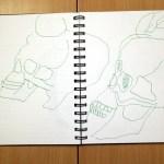 Klärung der Komposition und der Form (c) Zeichnung von Susanne Haun