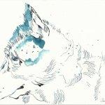 Portrait Husky Version 2 (c) Zeichnung von Susanne Haun