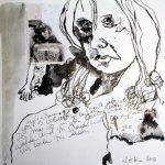 Blatt 14 Vergangene Urlaubszeit (c) Collage von Susanne Haun