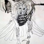 5 Detail Lilith (c) Zeichnung von Susanne Haun