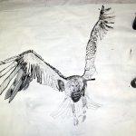 6 Bis hier erstmal - der erste Schritt ist wichtig (c) Zeichnung von Susanne Haun