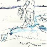Version 2 Die Freiheit der Eskimos (c) Zeichnung von Susanne Haun