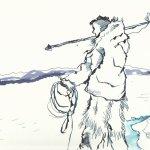 Version 2 - Teil 1 Eskimo (c) Zeichnung von Susanne Haun