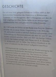 Geschichte des Schweriner Schloss (c) Foto von Susanne Haun