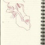 In einer Linie (c) Zeichnung von Susanne Haun