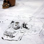 Der Totenkopf (c) Zeichnung von Susanne Haun