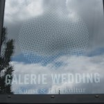 Ich mag das Logo der Galerie (c) Foto von Susanne Haun